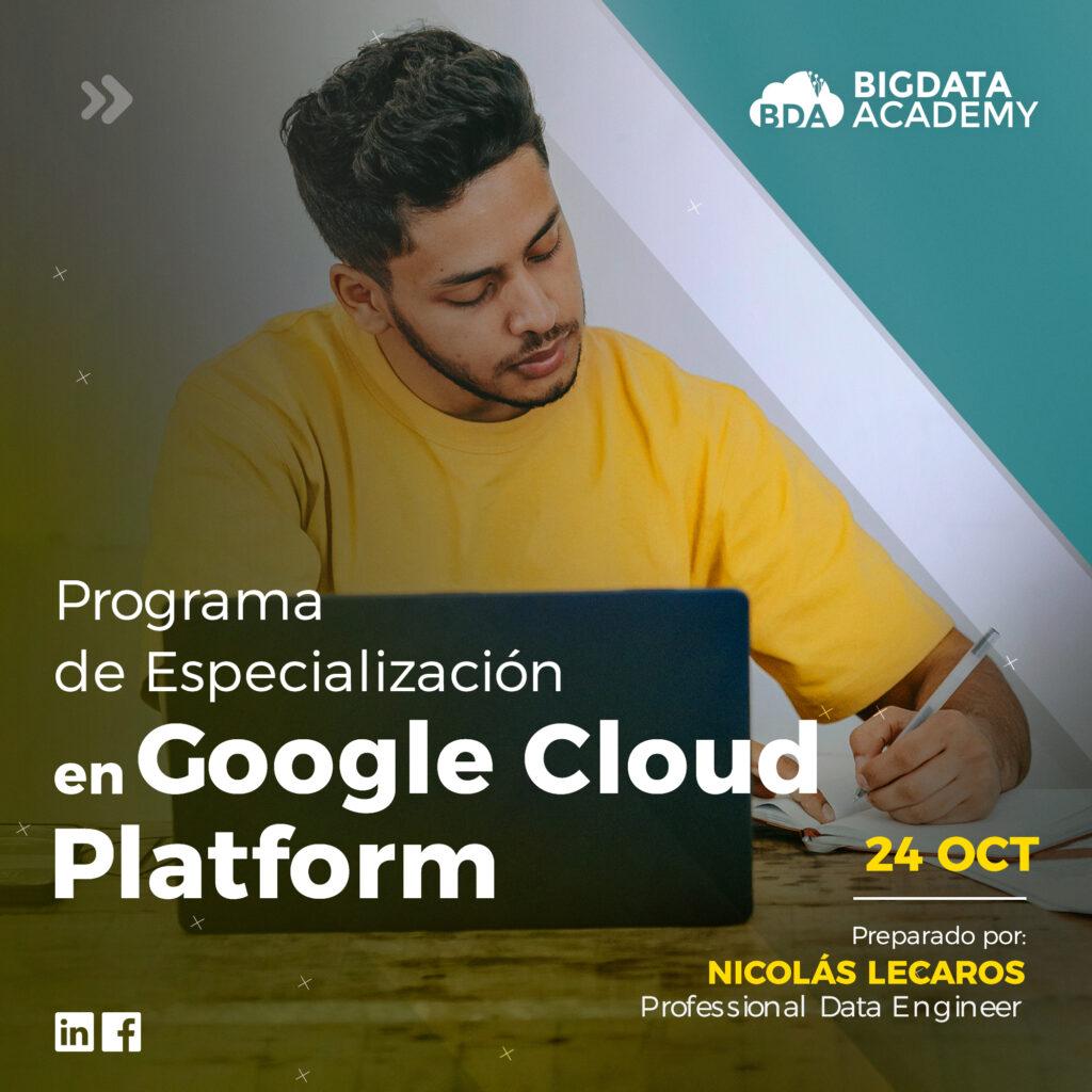 programa de google cloud platforma en peru